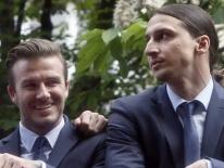 Ibrahimovic xác nhận sẽ 'chung độ' David Beckham