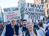 700.000 người đổ về London biểu tình đòi bỏ phiếu lần 2 về Brexit