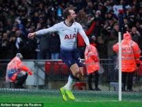 Clip: Cứu tinh Eriksen giúp Tottenham giành 3 điểm trước Burnley