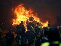 Bức ảnh vạch trần bạo động ở Paris thực chất là giả