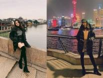 Cùng 1 chiếc áo phao và đôi boots, Hương Giang thể hiện trình mix&match; 'thượng thặng' khi tạo nên 3 set đồ siêu phong cách