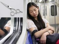 Cắt 'trộm' tóc người đẹp trên xe bus, chuyên gia tạo mẫu tóc Hong Kong bị bắt giam