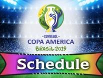 Bốc thăm vòng bảng Copa America 2019: Chủ nhà Brazil dễ thở