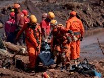Brazil bắt 5 người sau thảm họa vỡ đập khiến 65 người chết