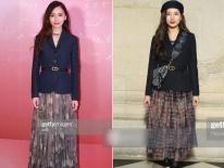 Lại duyên nợ tại show Dior: Angela Baby đen toàn tập, Suzy đụng hàng 'đồ cũ' của đàn chị