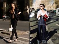 Hà Hồ phô trương ngực trần, Quỳnh Anh Shyn phải mượn áo để 'chinh chiến' street style với dàn sao quốc tế tại Paris