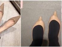 Đừng bao giờ mua giày mà không thử, bởi bạn không biết 'tai nạn mua bán online' sẽ ập đến lúc nào đâu