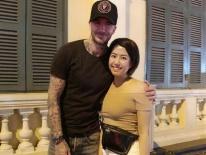 David Beckham đang có mặt tại Việt Nam, dạo phố đi bộ và thoải mái chụp ảnh cùng người hâm mộ