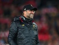 HLV Klopp: 'Các cầu thủ Liverpool là những người khổng lồ'