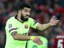 Suarez ví Barca phòng ngự như những đứa trẻ