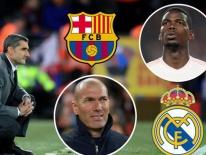 Barcelona bất ngờ nhảy vào cuộc giành Pogba với Real Madrid