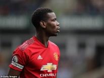 Pogba được đề nghị đeo băng đội trưởng MU