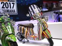 """Cận cảnh Yamaha Grande """"màu mè"""" nhất Việt Nam"""