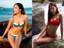 """""""Bấn loạn"""" vì siêu mẫu mặc bikini khoe vòng 3 gần 1m thi HH Hoàn vũ"""