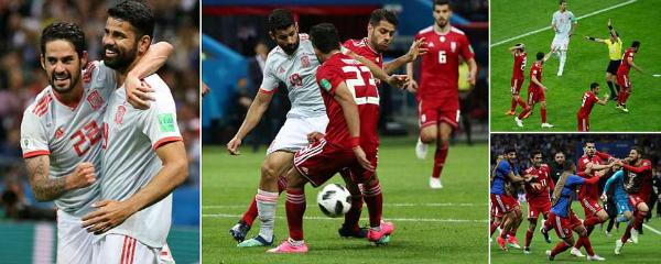 Diego Costa giúp Tây Ban Nha thắng trận đầu tay