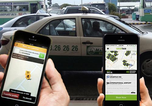 Bộ Giao thông đề xuất xe Grab không phải gắn mào như taxi