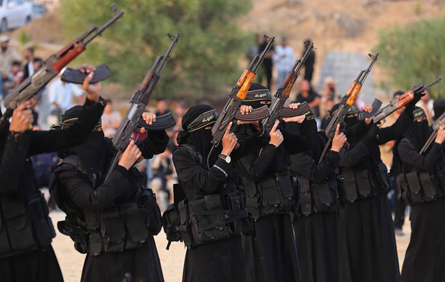 Chiêm ngưỡng vẻ đẹp bí ẩn, mạnh mẽ của các nữ du kích Palestine - 1