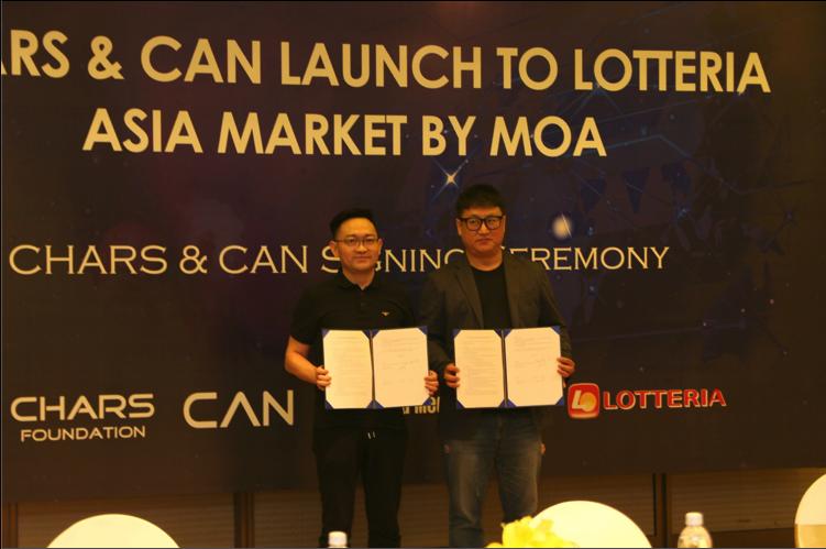 CharS Foundation ký kết hợp tác chiến lược MOA với CAN và Coin Swap