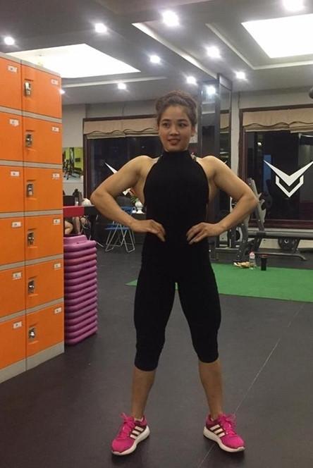 5 cô gái Việt nổi tiếng trên mạng vì có cơ bắp cuồn cuộn như đàn ông - 9