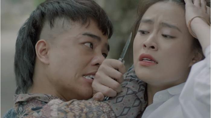 Mê Cung tung trailer kịch tính, Hoàng Thùy Linh vừa hôn Hồng Đăng đã bị 'Khá Bảnh' dọa giết - 8