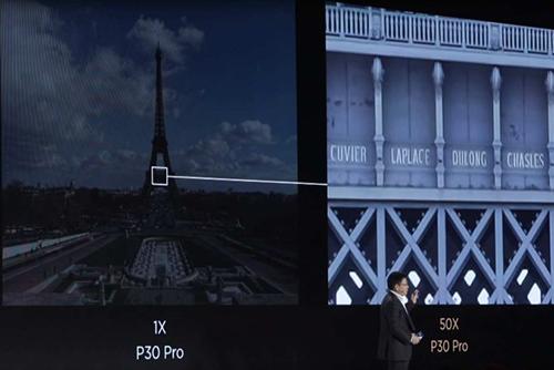 Huawei P30 Pro camera zoom 50x có thể bị lợi dụng để chụp lén