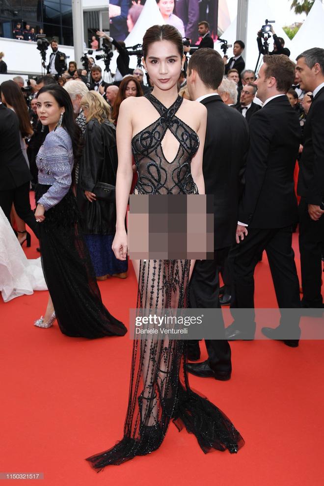 Ngọc Trinh 'kinh doanh' thứ gì ở Cannes?