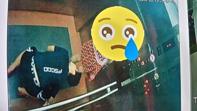 Quy Nhơn: Xuất hiện 'kẻ biến thái' quỳ xuống trong thang máy để nhìn bên trong váy của bé gái - 2