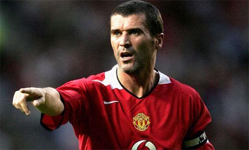 Roy Keane được bầu là Thủ quân vĩ đại nhất Ngoại hạng Anh