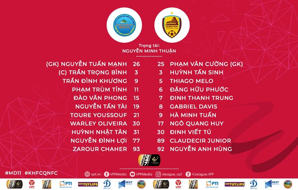 Sanna Khánh Hòa BVN 3-2 Quảng Nam: Thắng ngược kịch tính, Khánh Hòa đẩy Quảng Nam xuống bét bảng