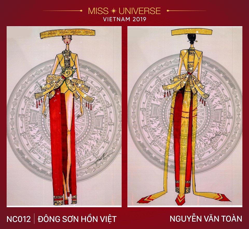 Miss Universe 2019: Ngoài thiết kế 'Bàn Thờ', Hoàng Thùy còn có cả bộ sưu tập 'độc-đẹp-lạ' này để lựa chọn - 13