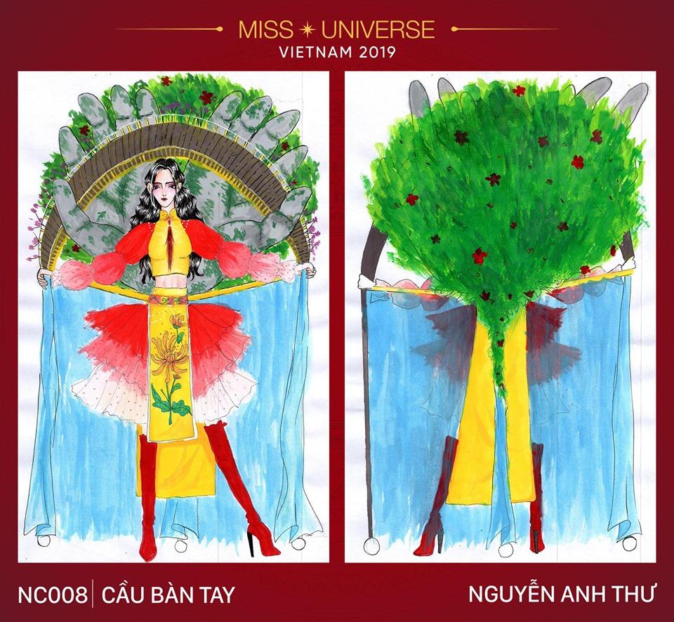 Miss Universe 2019: Ngoài thiết kế 'Bàn Thờ', Hoàng Thùy còn có cả bộ sưu tập 'độc-đẹp-lạ' này để lựa chọn - 11