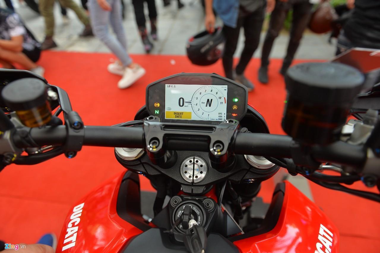 Chi tiết cào cào đô thị Ducati Hypermotard 950 giá 460 triệu - 10