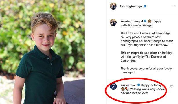 """Meghan Markle lại bị ném đá khi gửi lời chúc mừng sinh nhật Hoàng tử George còn """"kinh khủng"""" hơn cả những lần trước"""