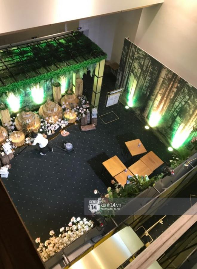 Loạt ảnh hiếm hoi không gian cưới ngập sắc xanh của Đàm Thu Trang - Cường Đô La - 6