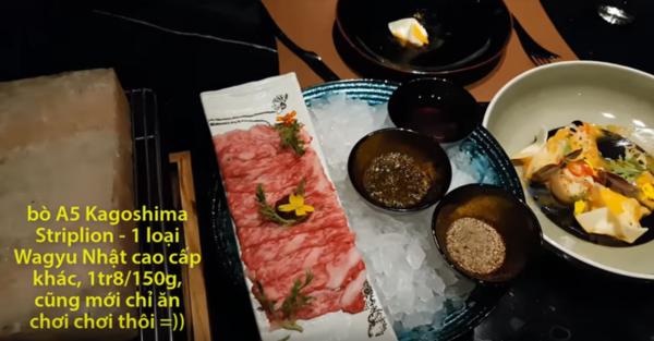 Khoa Pug gây 'choáng' khi ăn mừng nút vàng Youtube theo cách 'con nhà giàu': Gọi toàn món ăn xa xỉ bậc nhất thế giới mà không cần nhìn giá - 9