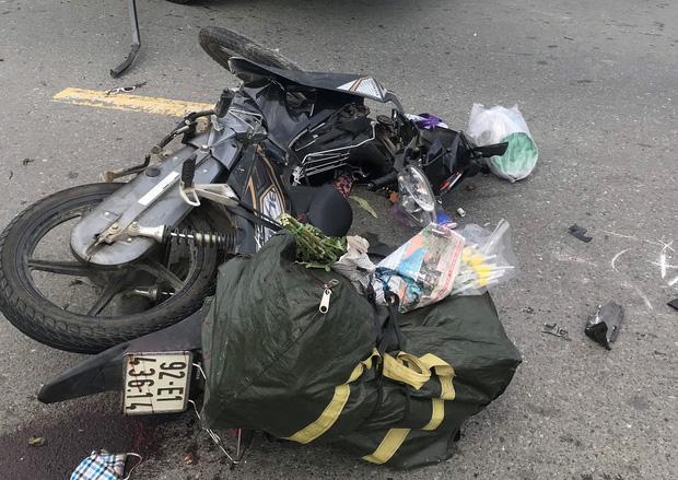 Người phụ nữ bán hương ở Đà Nẵng bị xe tải tông tử vong thương tâm - 1