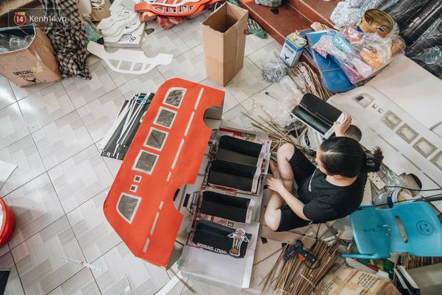 'Thủ phủ vàng mã' lớn nhất cả nước tấp nập 'tháng cô hồn': túi Chanel, xe phân khối lớn, xe đạp điện xuất xưởng - 15