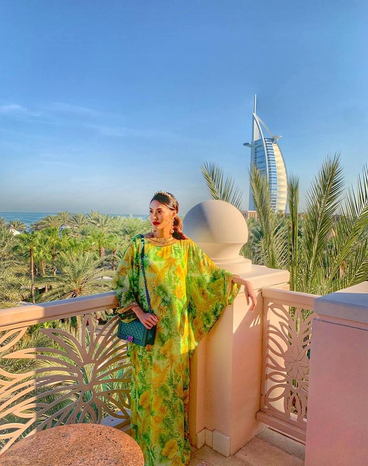 Bụng bầu vượt mặt, Lan Khuê vẫn được chồng chiều chuộng đưa đi du lịch tận Dubai - 2