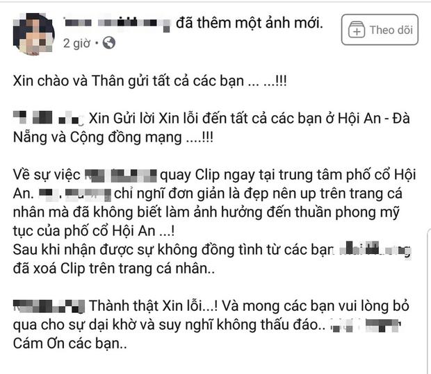 Lên tiếng xin lỗi, 'hot girl' bán khỏa thân quay clip trên nóc quán cafe ở Hội An vẫn bị 'ném đá' tới tấp - 1
