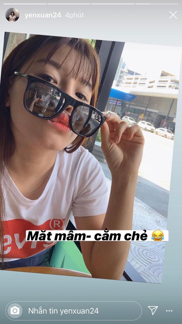 Yến Xuân đáp trả tin đồn lục đục tình cảm với Lâm Tây bằng 1 bức ảnh selfie khoe hạnh phúc mà tinh mắt lắm mới nhìn ra - 2