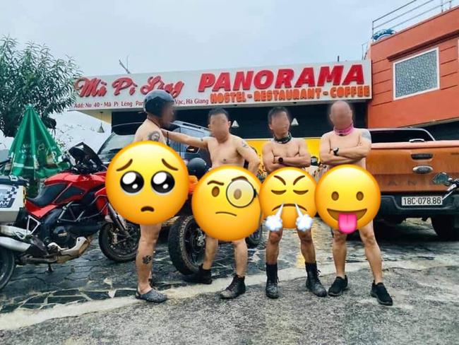 Chủ nhân của những hình ảnh khỏa thân 95%, 'tự sướng' trước khách sạn Panorama đèo Mã Pí Lèng đã khóa tài khoản facebook - 1