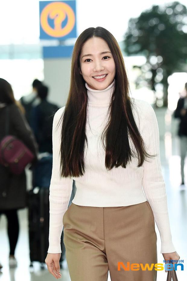 Lâu lắm mới lộ diện, 'nữ hoàng dao kéo' Park Min Young chỉ ăn diện sương sương mà cũng gây náo loạn vì xuất thần - 5