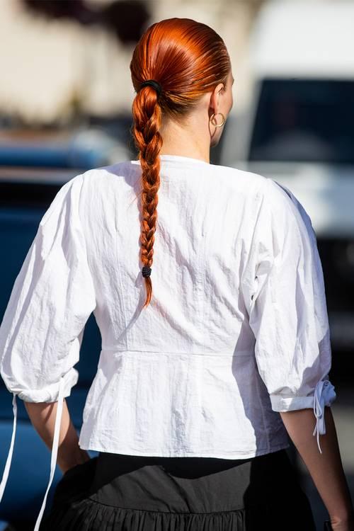 Tóc tết đơn giản - xu hướng mới trong làng thời trang - 2
