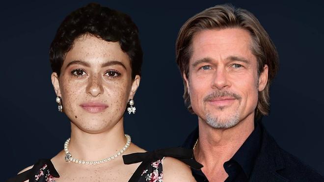 Brad Pitt lộ ảnh hẹn hò với bạn gái kém tuổi