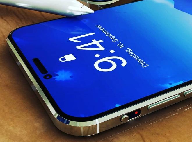 Thiết kế iPhone 12 Pro với 6 camera sau, Face ID đục lỗ - 5