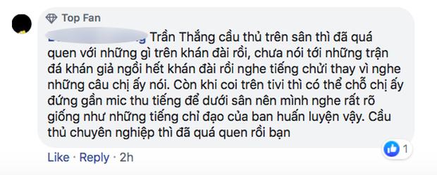 Fan Việt bức xúc với câu hát 'Bay lên trời là em bay ra ngoài': 'Phản cảm, nhức đầu, đối thủ chẳng hiểu gì mà lại khiến đội nhà mất tập trung' - 5