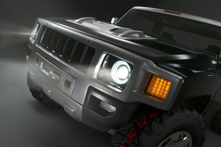 Bán tải Hummer chuẩn bị hồi sinh với động cơ điện siêu mạnh mẽ - 1
