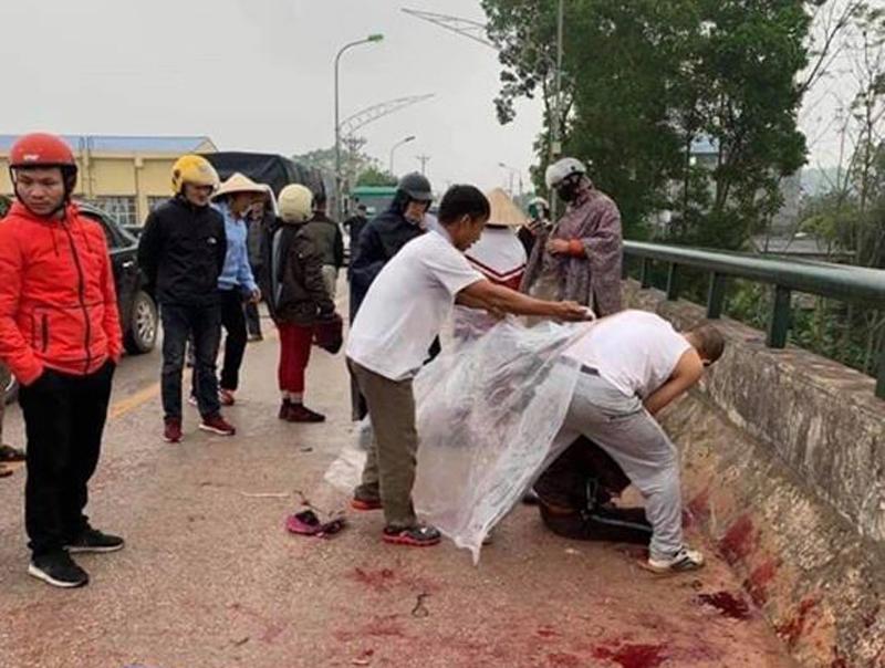 Bắt được nghi phạm chặn xe 2 mẹ con, cầm dao chém gục người mẹ giữa đường ở Thái Nguyên - 1