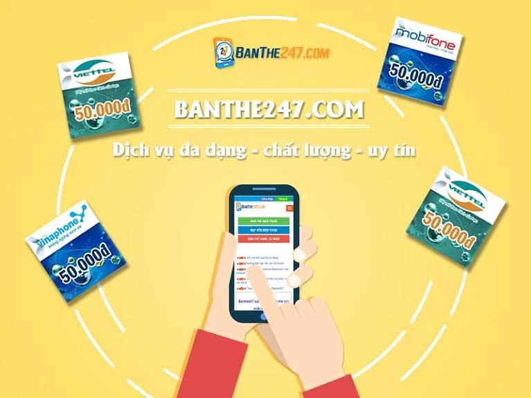 Banthe247.com – trải nghiệm mua thẻ online tuyệt vời dành cho bạn - 2