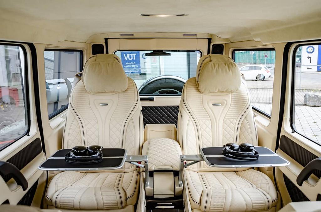 Mercedes-AMG G 63 Limo bọc thép giá nửa triệu USD - 3